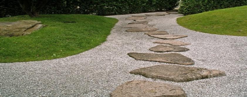 Gartenlandschaftsprodukte wie Polygonalplatten, Quarzitplatten, Sandstein, Findlinge